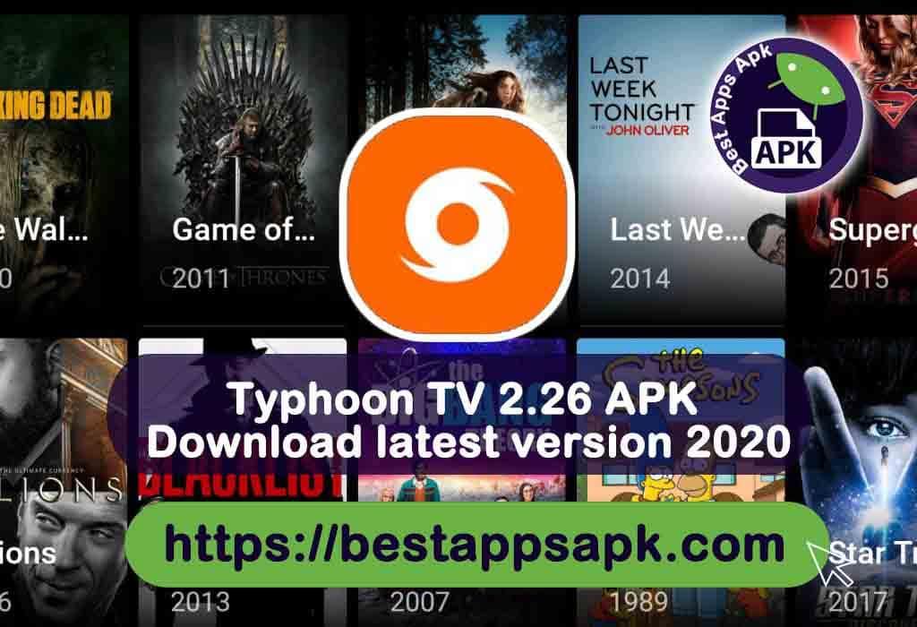 Typhoon TV 2.26 APK Download latest version 2020