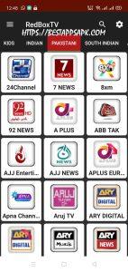 RedBox TV Mod APK version 1.9 4