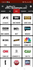 RedBox TV Mod APK version 1.9 8