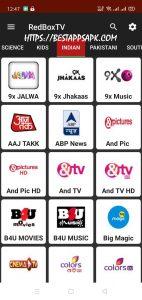 RedBox TV Mod APK version 1.9 3